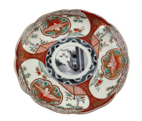 Hand Painted Imari Plate (1 of 5)