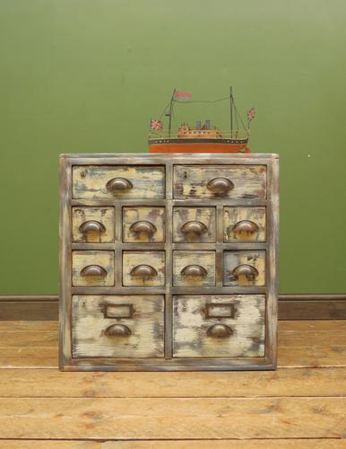 Reclaimed Hand Made Bank of Drawers (1 of 20)