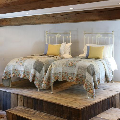 Matching Pair of Victorian Antique Beds (1 of 6)