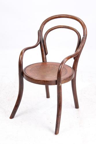 Edwardian Childs Bentwood Thonet Armchair by J & J Kohn (1 of 13)