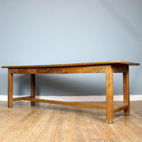 19th Century French Oak Refectory Table (1 of 6)