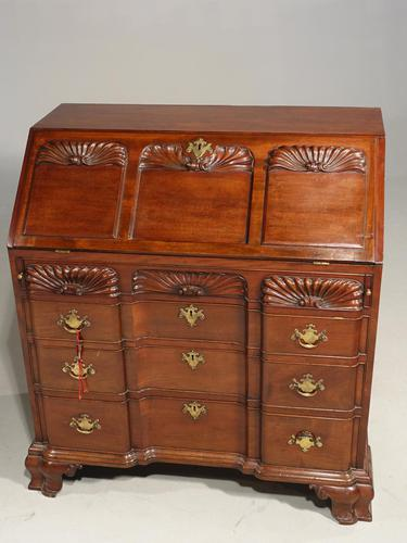 Beautifully made George III Period Mahogany Bureau in the American Taste (1 of 5)