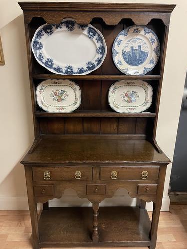 Titchmarsh & Goodwin Georgian Style Small Welsh Oak Dresser (1 of 11)