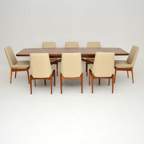 Hamilton Dining Table & Chairs by  Robert Heritage for Archie Shine Vintage 1960's (1 of 15)