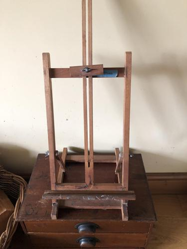 Vintage Artist Easel with Label from Tate St Ives (1 of 9)