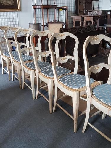 6 Painted French Chairs (1 of 6)
