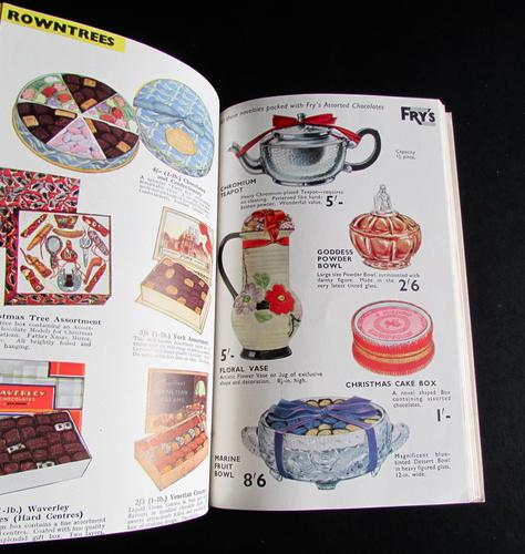 1936 Rare Christmas Confectionery Trade Catalogue for John Wilson Birmingham (1 of 4)