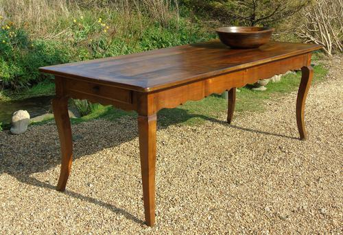 Fabulous Large French Fruitwood Farmhouse Table (1 of 11)