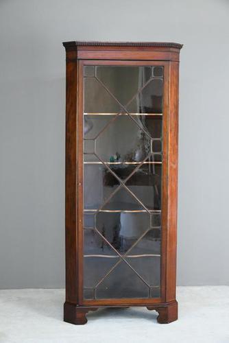 Antique Mahogany Astragal Glazed Cabinet (1 of 12)
