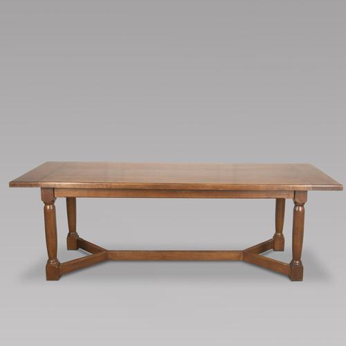 Large English Oak Dining Table (1 of 4)