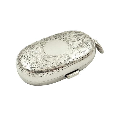 Antique Sterling Silver Double Sovereign Case 1915 (1 of 10)