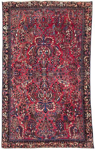 Antique Sarouk Rug (1 of 8)