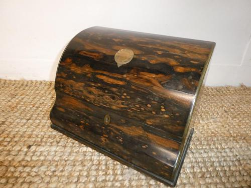 19th Century Coromandel Stationery Box (1 of 8)