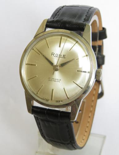 Gents 1960s Rone Wrist Watch (1 of 4)