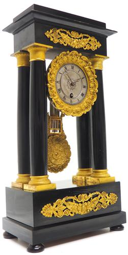 French Regulator Table Portico Mantel Clock Sought After Classic 8 day Clock (1 of 11)