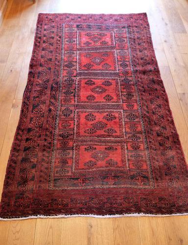 Handmade Persian Baluch Rug (1 of 14)