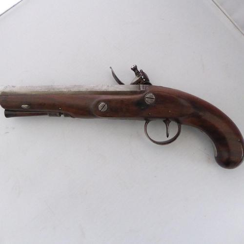 Flintlock Pistol by John  Edgeson of Stamford Lincs (1 of 2)