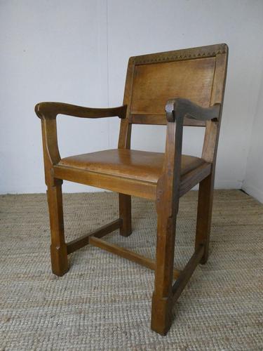 """Oak Armchair by """"Lizardman"""" Yorkshire (1 of 10)"""