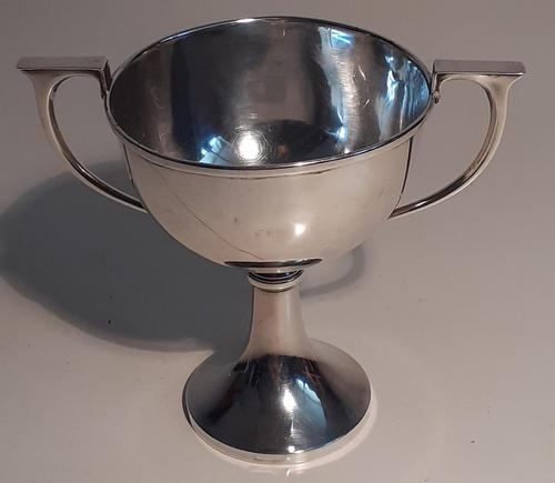 Late Art Deco Silver Loving Cup, Hallmarked 1933 (1 of 3)
