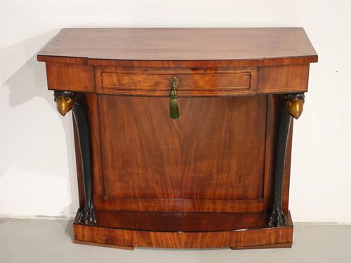 A Quite Rare Mid 19th Century Continental Mahogany Pier Table (1 of 5)