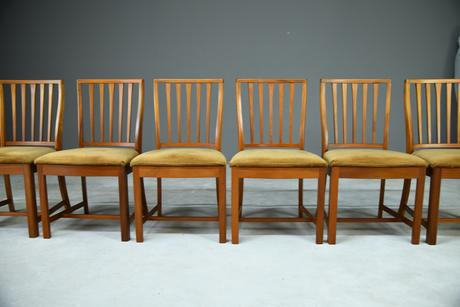 6 Retro McIntosh Dining Chairs (1 of 9)