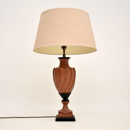 Antique Marble Table Lamp (1 of 6)