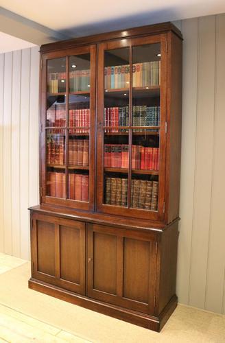 Large London Plane Cabinet Bookcase (1 of 8)