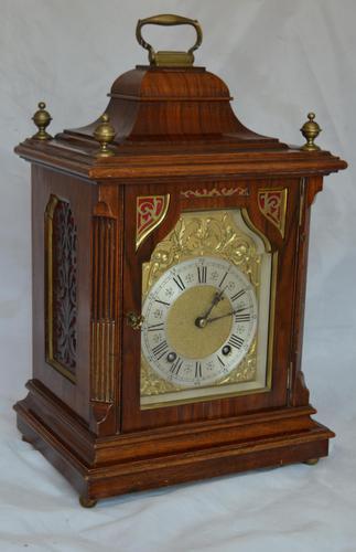 Leinzkirch Ting Tang Walnut Mantel Clock (1 of 7)