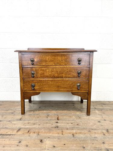 Early 20th Century Oak Chest of Drawers (1 of 9)