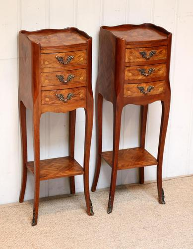 Pair of Tulipwood Bedside Cabinets (1 of 10)