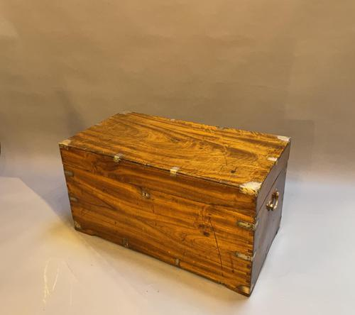 19th Century Camphor Campaign Trunk (1 of 10)