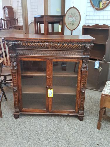 Lion Mask Face Bookcase (1 of 8)