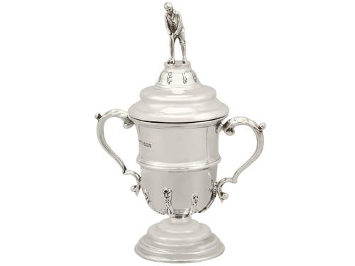 Sterling Silver Cup and Cover Antique George V 1933 (1 of 12)