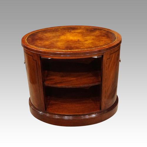 1930's Oval Mahogany Centre Table (1 of 7)