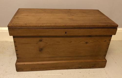 Mid Victorian Blanket Chest (1 of 6)