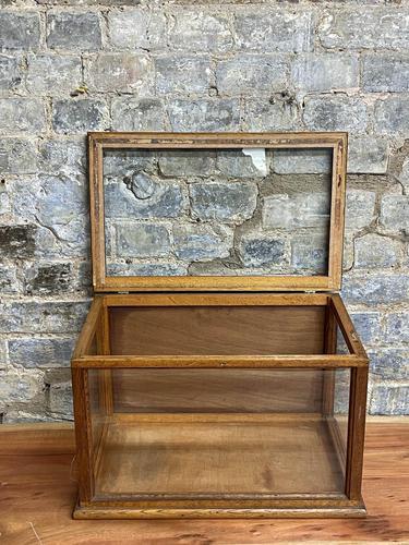 Counter Top Wooden Flip Display Cabinet (1 of 3)