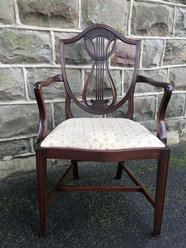 Antique Mahogany Desk Chair (1 of 6)