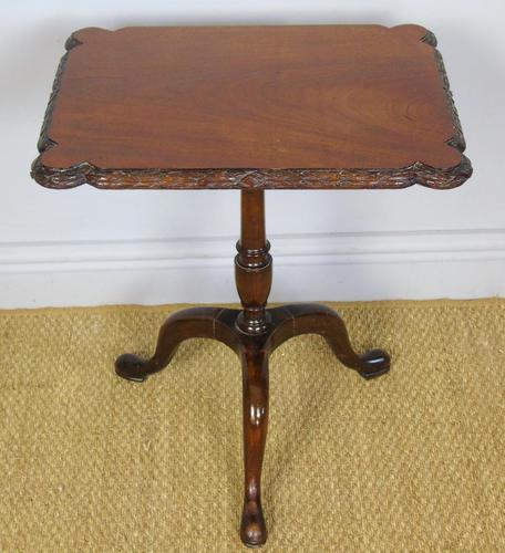 Georgian Regency Revival Mahogany Tripod Table c.1910 (1 of 5)