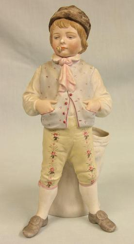 Antique Bisque Figurine of Young Boy (1 of 12)
