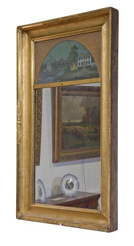 Decorative 19th Century Pier Glass in Gilt Frame (1 of 5)