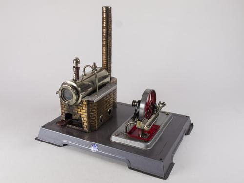 Vintage Wilesco Model D6 Stean Engine (1 of 7)