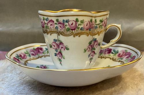 Dresden Hot Chocolate Cup & Saucer (1 of 6)
