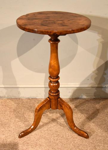George III Elm Tripod Table (1 of 6)