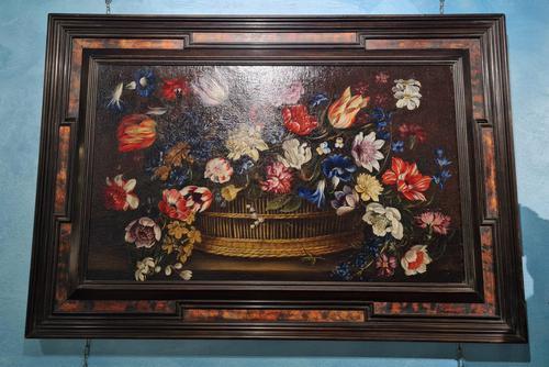 18th Century Flemish Painting, Oil on Panel (1 of 10)