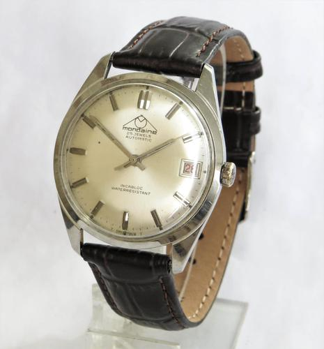 Gents 1970s Mondaine Wrist Watch (1 of 4)