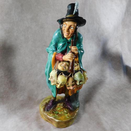 "Royal Doulton ""The Mask Seller"" HN2103 Figurine (1 of 9)"