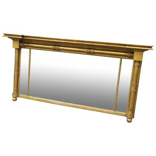 George IV Gilt and Mahogany Overmantel Mirror (1 of 8)