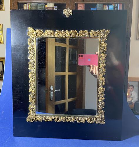 Georgian Papier-mâché  Gilt Brass Mounted Mirror (1 of 5)