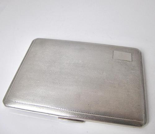 Heavy and Tactile Cigarette Case W.T. Toghill & Co. Birmingham 1946 (1 of 10)