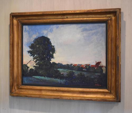 Landscape At Daybreak, Oil Painting by Sylvie Plessy (1 of 6)